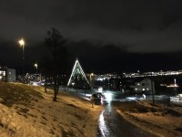 Ishavskatedralen i Tromsø.