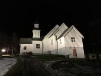En kyrka i Skjervøy.
