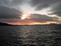 En ny morgon gryr uppe i Nordnorge.