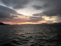 Ett kallt hav i Nordnorge.