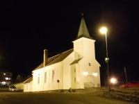 Kyrkan i Honningsvåg.