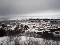 I Kirkenes vänder Hurtigruten tillbaka till Bergen.