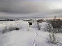I utkanten av Kirkenes.