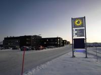 Det nya sjukhuset i Kirkenes.
