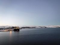 Fartyg i Kirkenes.