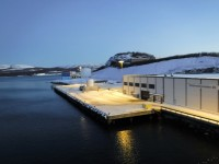Terminalområde i Kirkenes.
