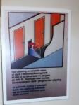 I en korridor långt ner i MS Vesterålen finns det utrustning som ska minimera riskerna och skadorna om olyckan skulle vara framme och vatten skulle börja tränga in i fartyget.