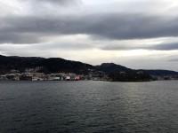 Nu är vi strax framme i Bergen igen.