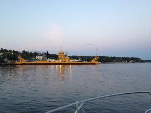Kväll vid Vaxholm.