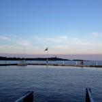 En fin kväll i Sandhamn.
