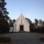 Sandhamns kapell.