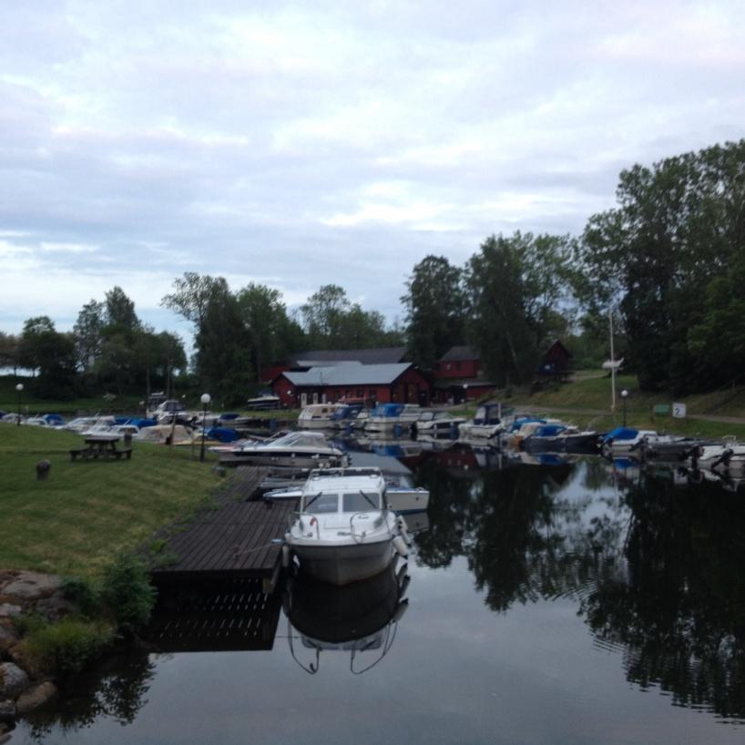 Hamnen i Hovetorp.