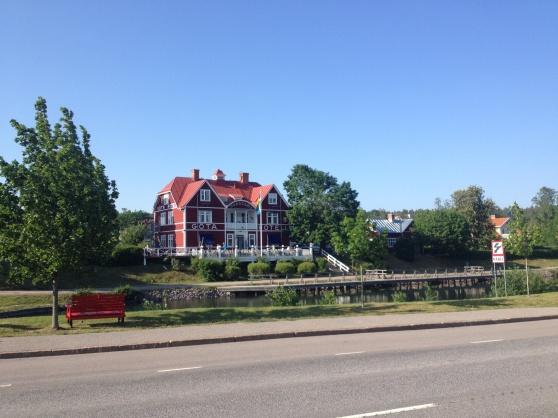 Göta Hotell, invid Göta kanal i Borensberg.
