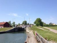 Nationaldagen vid Göta kanal.