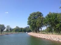 Göta kanal den 6:e juni 2019.
