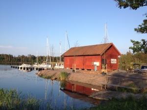 Hamnen i Forsvik.