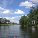 Konvojkörning på Göta kanal, lördagen den 8:e juni 2019.