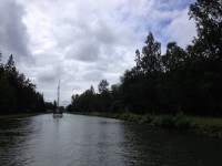 Göta kanal, söndagen den 9:e juni 2019.
