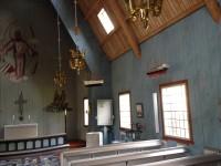 Interiör i Sjötorps kyrka.