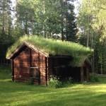 Ett hus vid Nysäter.