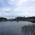 En öppningsbar bro vid Nysäter.