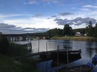 Värmlands Vikingacenter ligger alldeles invid Säffle kanal.