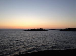 Kväll vid Vänern, den 17:e juni 2019.