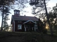 Hus vid Stenstaka på Lurö.