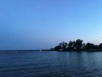 Båtar vid Stenstaka på Lurö.