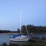 Båtar vid Lurö.