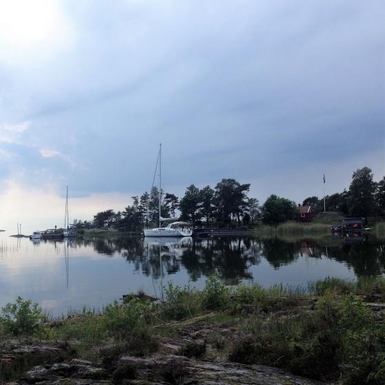 Stenstaka på Lurö, den 18:e juni 2019.