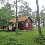 Hus på Lurö.