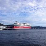 Fartyget M/S Oslofjord i Strömstad, den 26:e juni 2019.