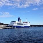 Fartyget M/S Color Viking i Strömstad, den 26:e juni 2019.
