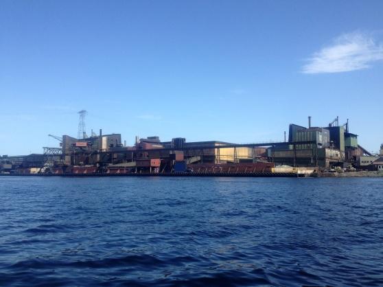 Industriområdet vid Herøya.
