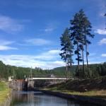 Telemarkskanalen, den 2:a juli 2019.