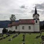Kyrkan i Lårdal.