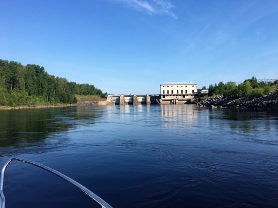 Stora Skedvi kraftverk.