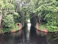 Kanalen in till Bysjön vid Kvarnsveden.