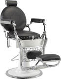 Barber Chair Vintage - handgjord finns i svart, beige/guld
