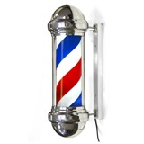 Barber Pole Light/Rotating