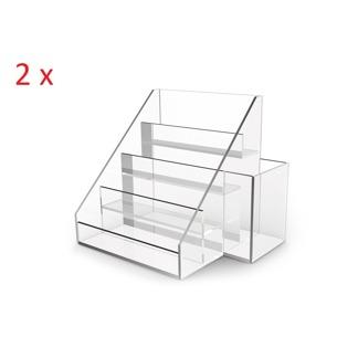 2 x Akryl display för nagellacker - Thenar - 2 x Akryl display för nagellacker - Thenar