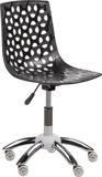 Arbetsstol Flower svart eller vitt