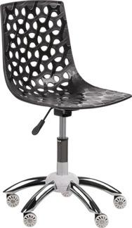 Arbetsstol Flower svart eller vitt - Arbetsstol Flower svart