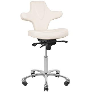 Arbetsstol Terapeutstol cream vit - Arbetsstol stol 052