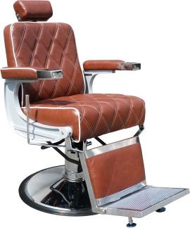Barber Chair Charles cognac + mjörkbrun - Barber Chair Charles cognac