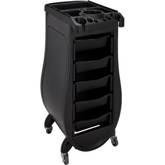 Arbetsvagn Signorina Design svart eller svart vit - Arbetsvagn Signorina Design i svart