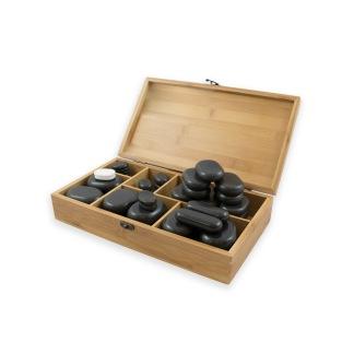 45 stck. Hot Stones basalt stones - 45 stck. Hot Stones basalt stones