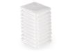 10 stck. Handdukar microfiber färgval vit, blå, brun, svart - 10 stck. Handdukar microfiber vit