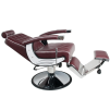 Barber Chair BRAD maroon